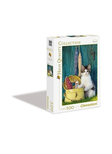 Clementoni The Cat (500 parça) Renkli